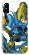 Abstract Expressionism Painting Series 715.102710 IPhone Case