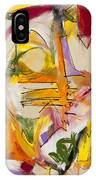 Abstract Expressionism Two IPhone Case