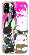 Abstract Female Tennis Player IPhone Case