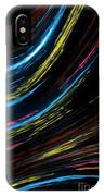 Abstract Fiber IPhone Case