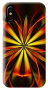 Abstract Floral 032811 IPhone Case