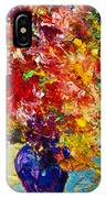 Abstract Floral 1 IPhone Case