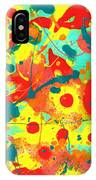 Abstract Floral Fantasy Panel A IPhone Case