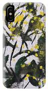 Abstract Floral Study IPhone Case