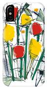 Abstract Flower Sixteen IPhone Case