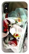 Abstract Flowers Of Love #1 IPhone Case