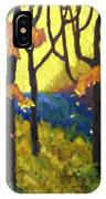Abstract Forest IPhone Case