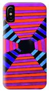 Abstract Fun Tunnel IPhone Case