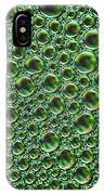 Abstract Green Alien Bubble Skin IPhone Case