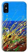 Abstract Ibiza IPhone Case