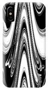 Abstract IIi Death Mask IPhone Case