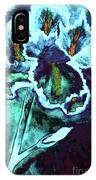 Abstract Iris IPhone Case