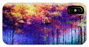 Abstract Landscape 0830a IPhone Case