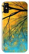 Abstract Landscape Art Passing Beauty 2 Of 5 IPhone Case