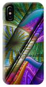 Abstract Levels Of Color IPhone Case