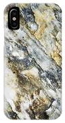 Abstract Limestone And Silica Texture IPhone Case