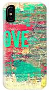 Abstract Love V2 IPhone X Case