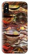 Abstract Magnified Lines IPhone Case