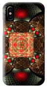 Abstract Mandala 2 IPhone Case