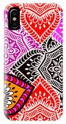 Abstract Mandala Floral Design IPhone Case