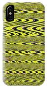 Abstract Metal Plate IPhone Case