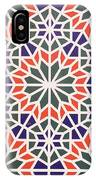 Abstract Moroccon Tiles Colorful IPhone Case