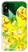 Abstract Of A Wild Buttercup Flower IPhone Case