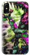 Abstract Of An Iris IPhone Case