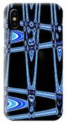 Abstract Of Blue Clock Works IPhone Case