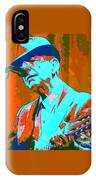 Abstract Of Leonard Cohen IPhone Case