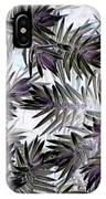 Abstract Of Low Growing Evergreen Shrub IPhone Case