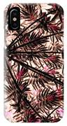 Abstract Of Low Growing Shrub  IPhone Case