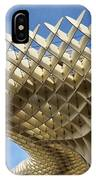 Abstract Of Metropol Parasol Pod At Plaza Of The Incarnation Sev IPhone Case