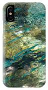 Abstract Of The Underwater World. Production By Nature IPhone Case