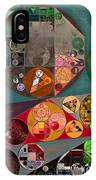 Abstract Painting - Chicago IPhone Case