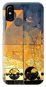 Abstract Painting - Davy Grey IPhone Case