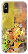 Abstract Painting - Pale Brown IPhone Case