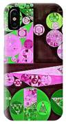 Abstract Painting - Pale Plum IPhone Case
