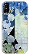 Abstract Painting - Paris White IPhone Case