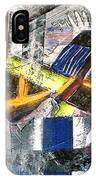 Abstract Painting IPhone Case by Robert Thalmeier