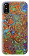 Abstract Pallet Oil Color IPhone Case