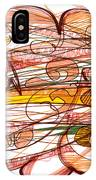 Abstract Pen Drawing Eight IPhone Case
