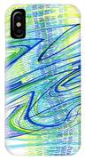 Abstract Pen Drawing Forty IPhone Case