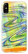 Abstract Pen Drawing Forty-one IPhone Case