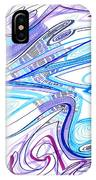 Abstract Pen Drawing Forty-two IPhone Case
