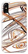Abstract Pen Drawing Ten IPhone Case