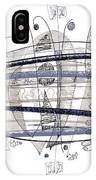 Abstract Pen Drawing Thirty-four IPhone Case