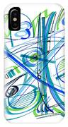 Abstract Pen Drawing Thirty-three IPhone Case