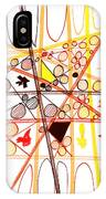 Abstract Pen Drawing Three IPhone Case
