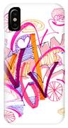 Abstract Pen Drawing Twenty-six IPhone Case